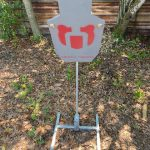Front View – 3/8″IPSC Target Package